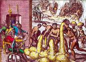 Queen Isabella granted Encomienda