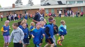 Mr. Evans and his runners