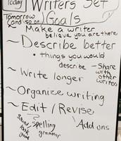 Setting Writing Goals