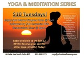 Thank God It's Tuesday! $10 Yoga & Meditation Series