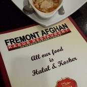 Afghan restaurant in Freemont, California