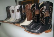 We offer various western boots that will fit all your needs!