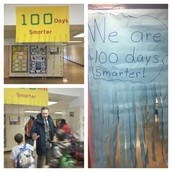 Welcoming our Panthers to the 100th day of school! Love my job even more than the 1st day!