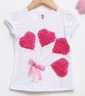 White T-shirt +3D