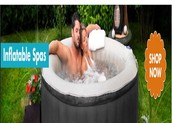 Inflatable Portable Spa for Sale