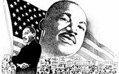 drawing of matin luther king