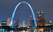 Come to St. Louis and walk the arch while overlooking the city!