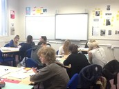 Collaborative learning in well decorated classrooms