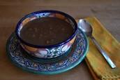 Oaxacan Black Bean soup