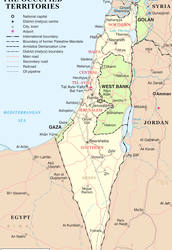 Why has Isreal's borders changed so much?