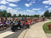 All 4th graders participated!