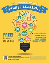 2014 Summer Academies in Math, Science and Technology