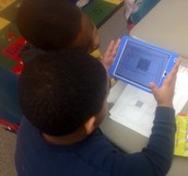 QR Codes in Our Classroom!