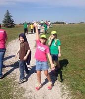 Everyone loves a good walk-a-thon!!