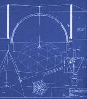 Blueprint for Geodesic globe