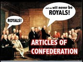 Strengths ~ the Article of confederation