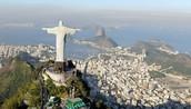 Rio de Janeiro, Brazil 23 degrees S, 43 degrees W