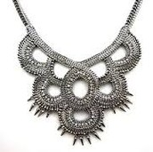 TALLULAH BIB NECKLACE