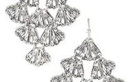 Geneve Lace Earrings $35
