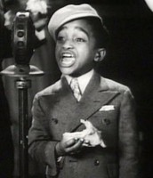 Sammy Davis Jr as a child