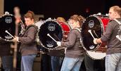 ROCORI Drum Line Pays Tribute