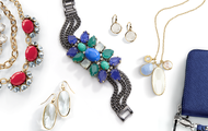 Bold color or precious stones