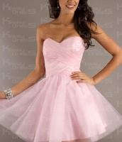 El vestido rosa