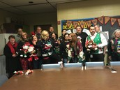 Ugly sweater contest...for teachers.