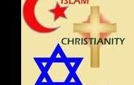 Islam, Christianity, & Judism Symbols