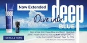 Deep Blue Promo Extended Thru April 15th!!!