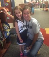 Hudson spirit in the 1st grade hallway!