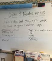 Ms. Doughty's Writing Mini Lesson