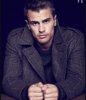 Theo James as Dodge from Divergent