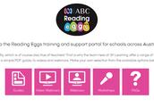 Reading Eggs Training Portal Choices