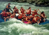 A family River rafting