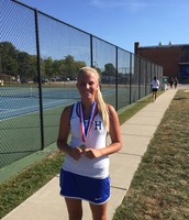Meyer Finishes 1st In #8 Singles