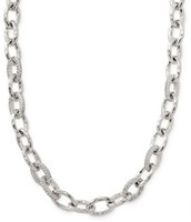 Silver Christina Link Necklace $35 (retail $79)