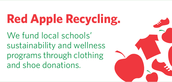 Red Apple Recycling Clothing Drive Challenge