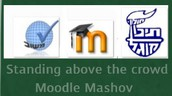 It's using your  Moodle Mashov at School!