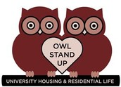 Owl Stand Up Tabling