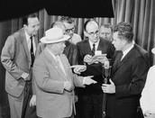 President Nixon and General Leonid I. Brezhnev