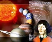 Copernicus and his solar system theory