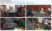3rd grade PBL Gives Back