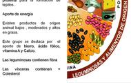 Legumbres/ Alimentos  origen Animal
