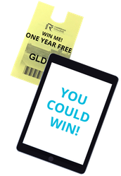 COMPLETE OUR SHORT SURVEY FOR A CHANCE TO WIN FREE PARKING OR AN IPAD