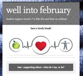 last month's wellness flyer