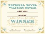 Привітаймо сміливців, які довели, що написати роман за місяць – це амбітна ціль, яка стає реальністю під час письменницького марафону NaNoWriMo!