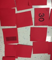 1st Grade Game - Matching Numeral with Model