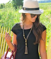 Bianca Tassel Necklace