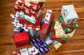 Comprar los regalos tiempo familia